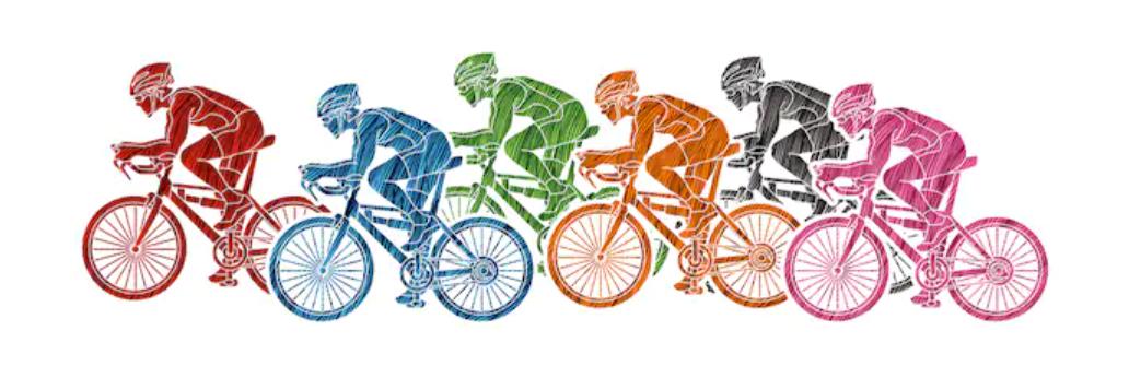 Course du vélo club de Saint-Mammès